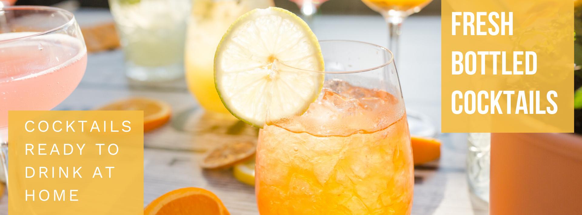 Facebook cover Pre Batched Cocktails
